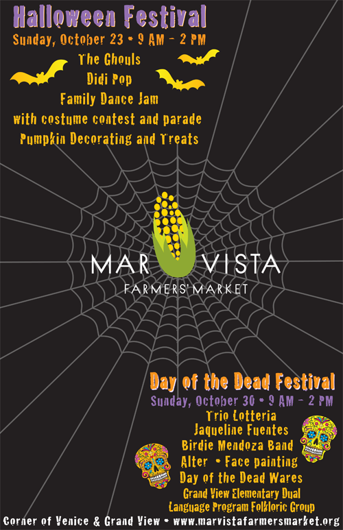 Mar Vista Halloween Festival Farmers' market